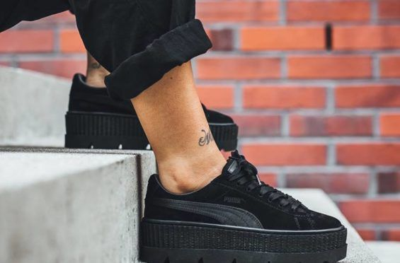 Detailed Rihanna Look Suede The Creeper At X Puma Fenty