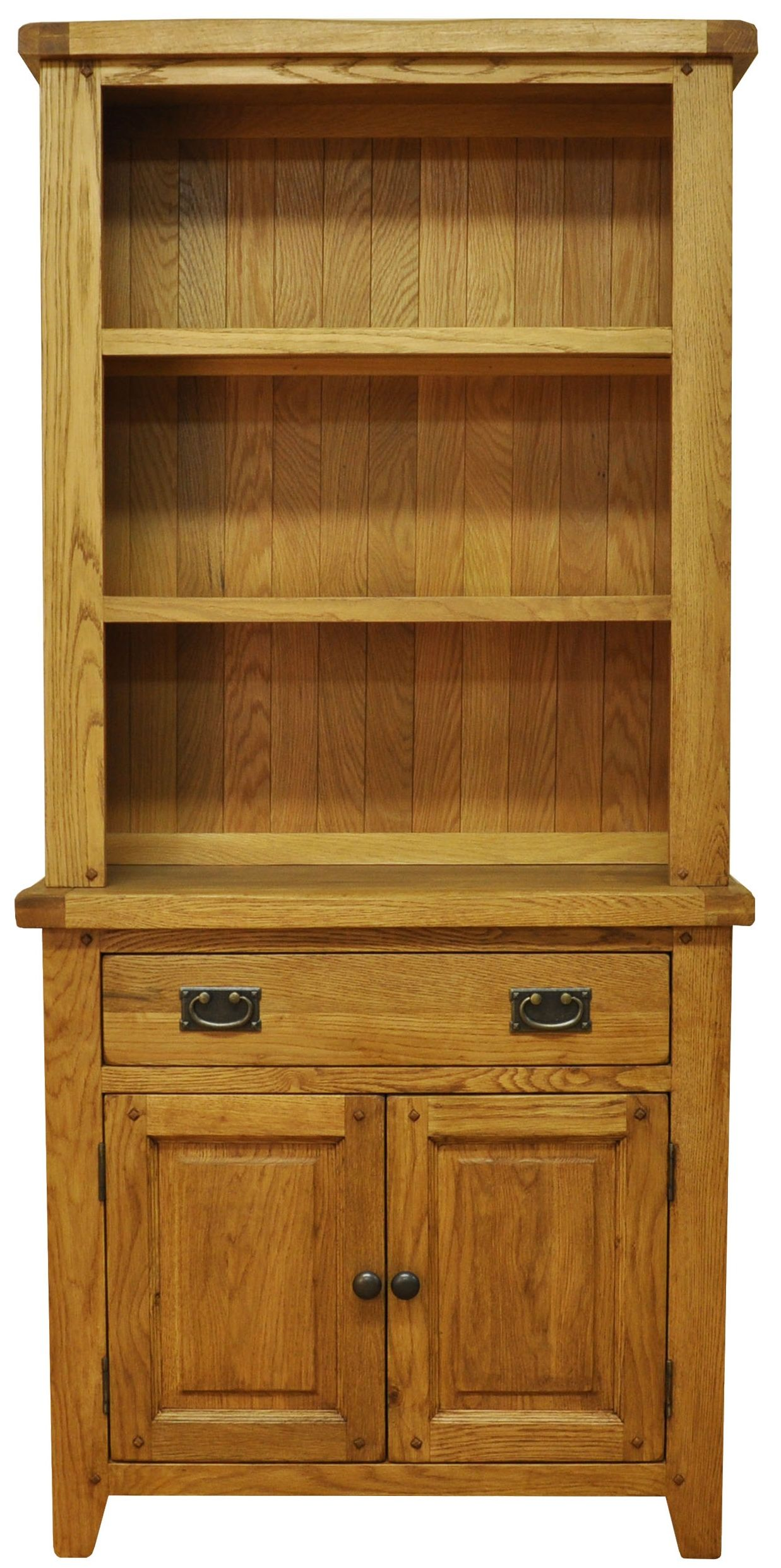 Stanton Small Rustic Oak Dresser With Open Top Small Dresser Oak Dresser Dresser Top