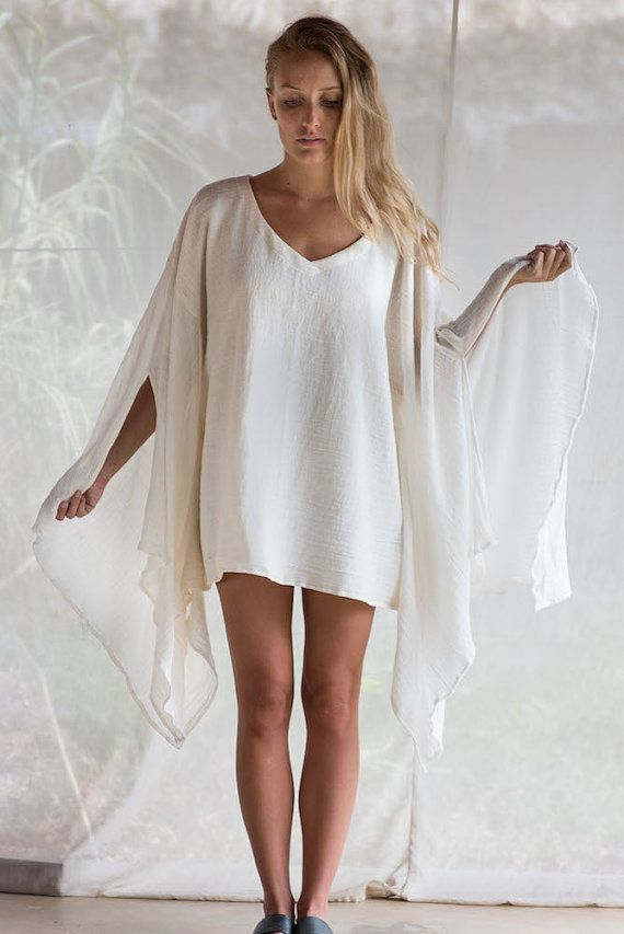 89c8e4cdab Angle Cut Sleeve Kaftan Dress | Beachy Boho-Chic Fashion | Kaftan ...