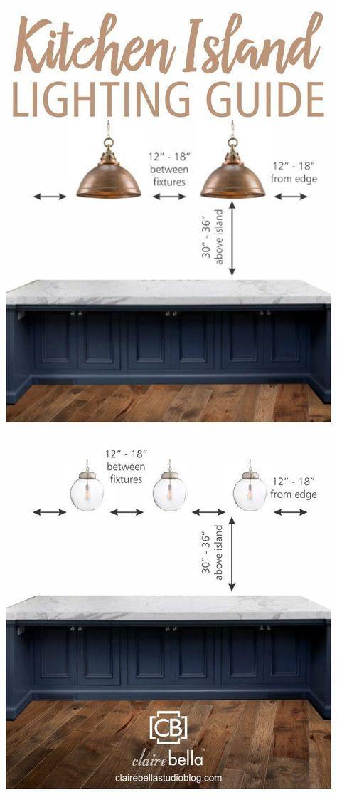 Photo of Wonderful Image of Lighting Fixtures Over Kitchen Island – Interior Design Ideas & Home Decorating Inspiration – moercar