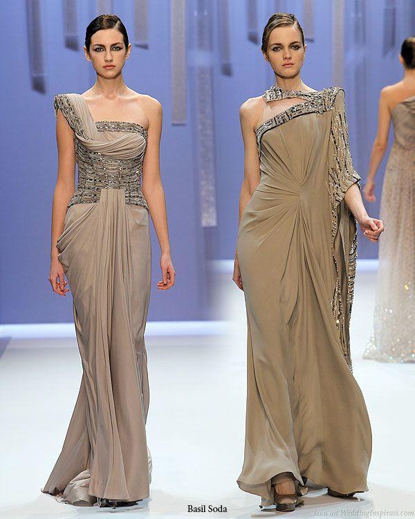 Basil Soda Haute Couture Spring/Summer 2010 | Grecian gown, Kaftan ...