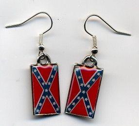 Dixie Dangle Earrings Dangle Earrings Black Band Ring Earrings