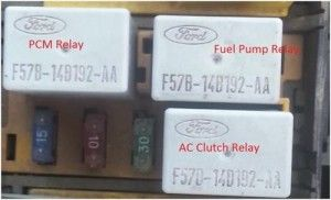 Ford Taurus Fuel Pump Relay Location Ford Fuel