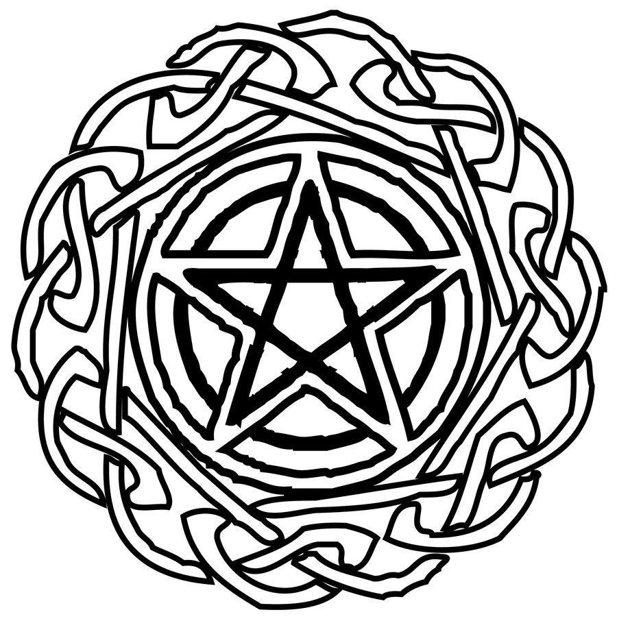 Wiccan Star Tat By Lycan Spirit Deviantart Com On