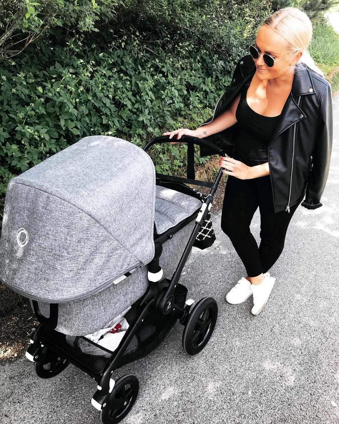 Første trilletur 🙆🏼♀️ superproudmommy stroller