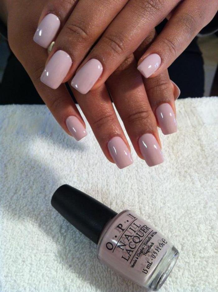La manucure en couleur nude - idées originales pour votre nail art nu - Archzine.fr