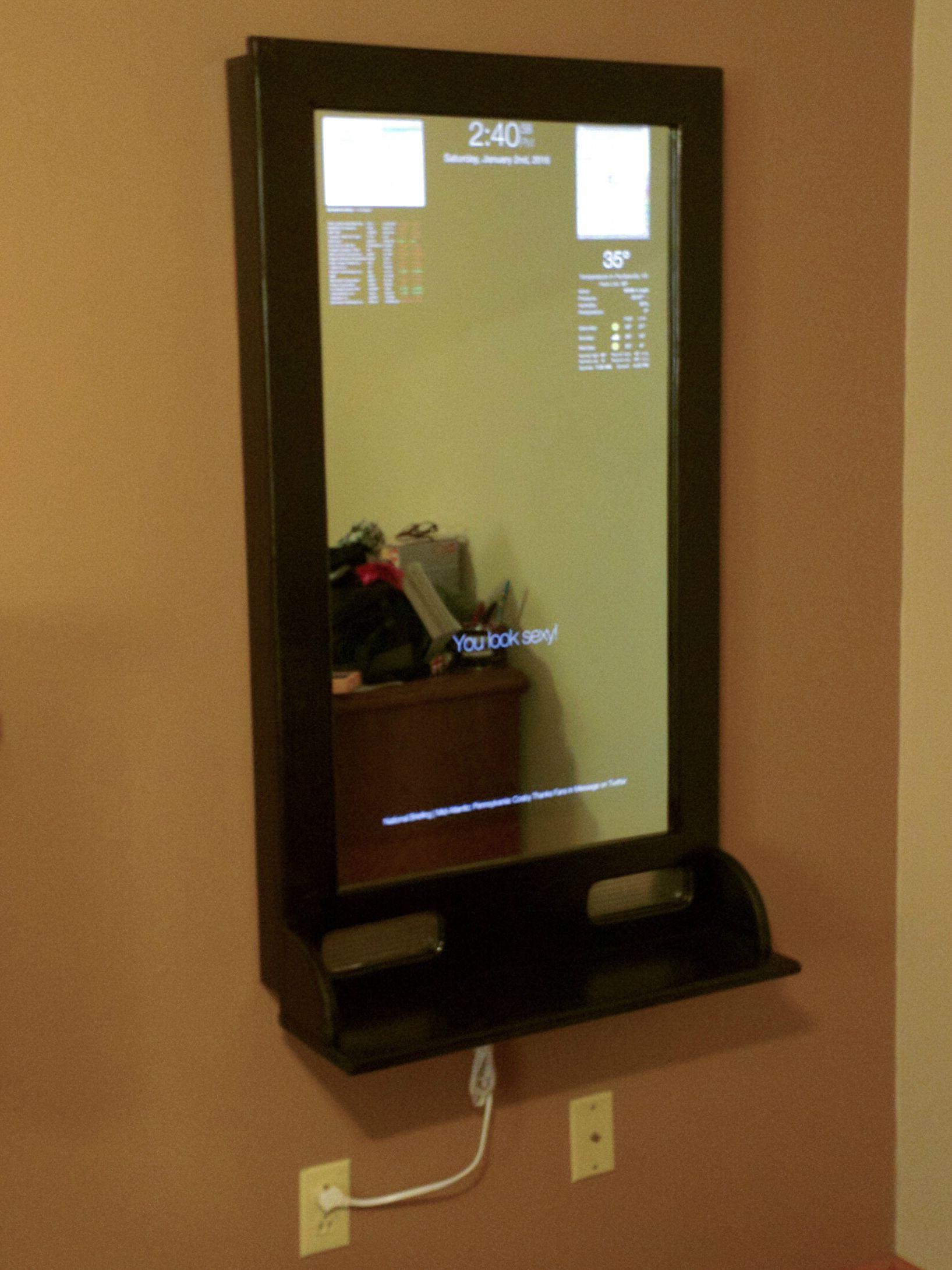 Raspberry pi k magic mirror gadgets pinterest