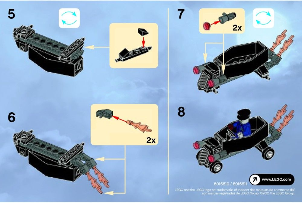 Monster Fighters - Zombie chauffeur coffin car [Lego 30200] | m ...
