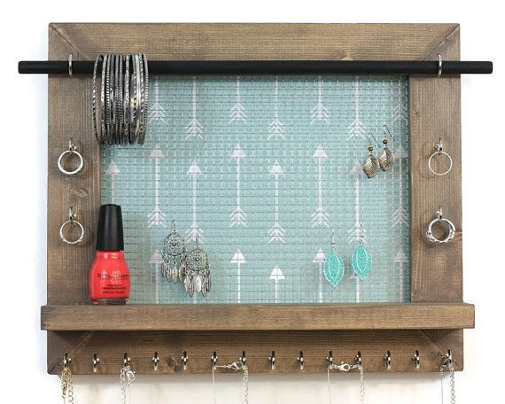 Necklace Jewelry Organizer Wall Hanging Jewelry Display Jewelry