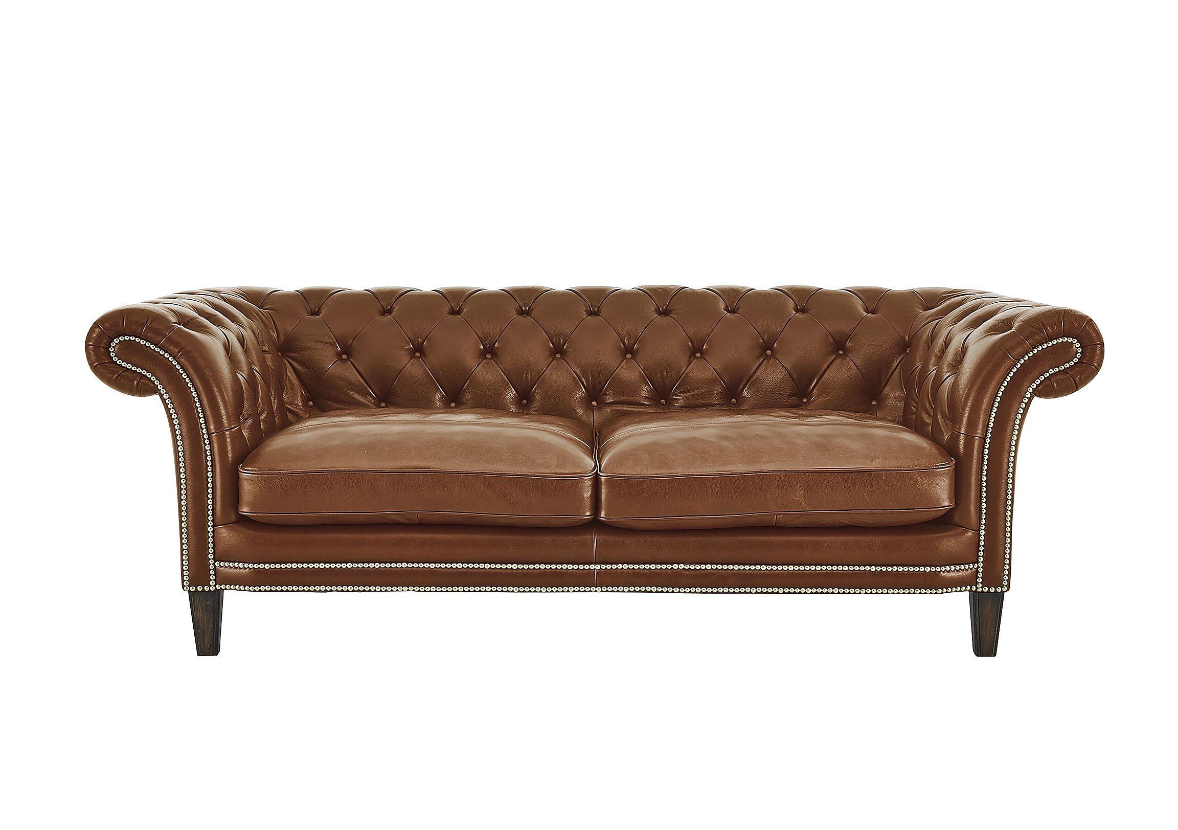 Aruba 2 Seater Leather Sofa Furniture Village