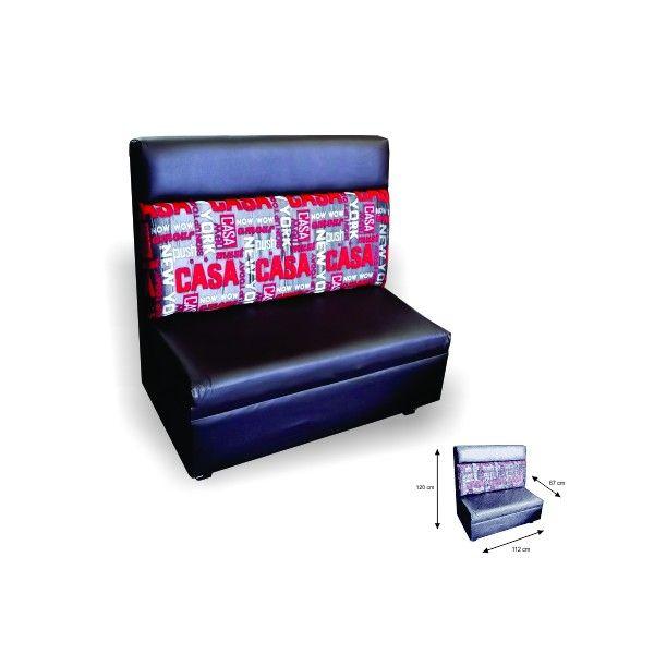 booth para restaurante sencillo - Casa Mariana Dos22