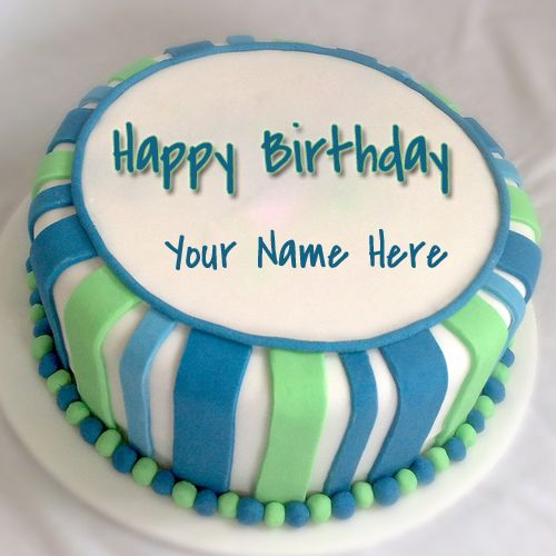 Happy Birthday Wishes Cake For Brother With Your Name Cake