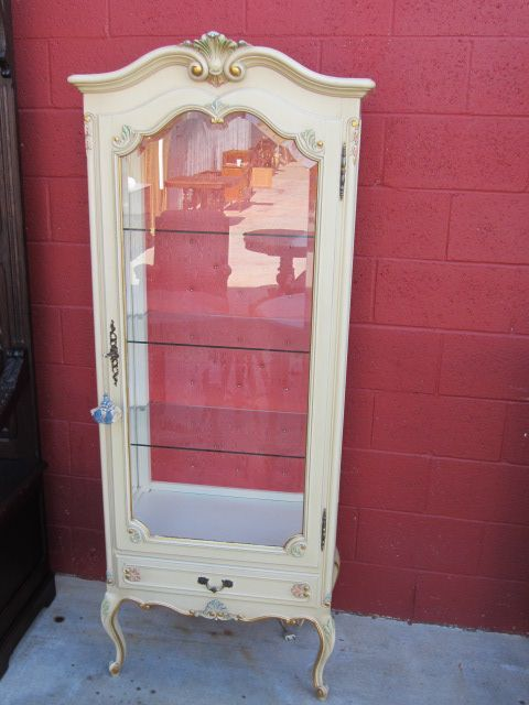 This is an absolutely gorgeous French antique shabby chic Louis XV display  cabinet that dates from The French antique china cabinet is 70 - Two Tone China Cabinet Inspiration French Decor & Boutique