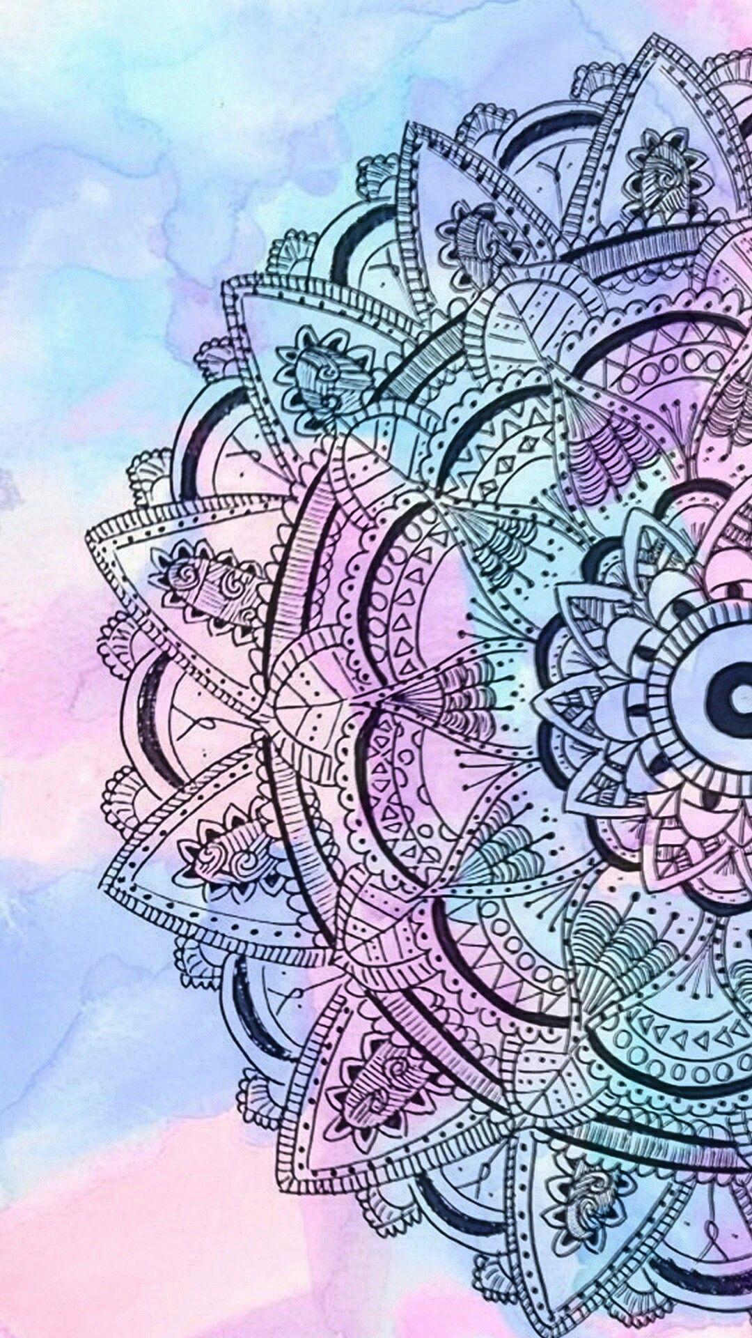 Siga Teus Sonhos Porque Vao As Alturas Mandala Wallpaper