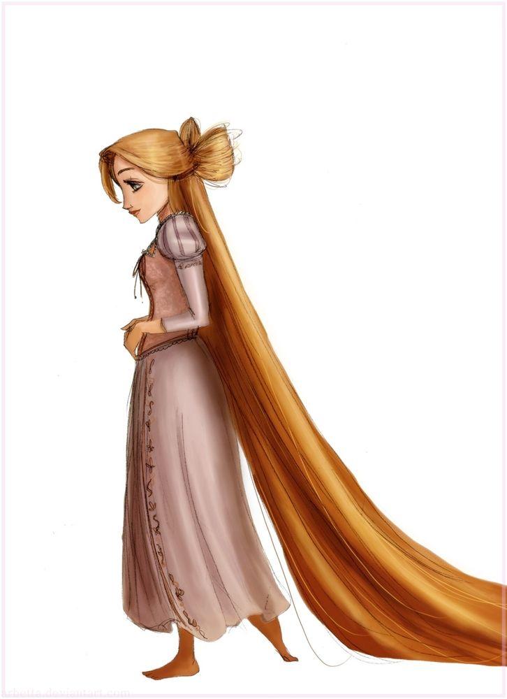 Hair bow Rapunzel by ~Arbetta on deviantART