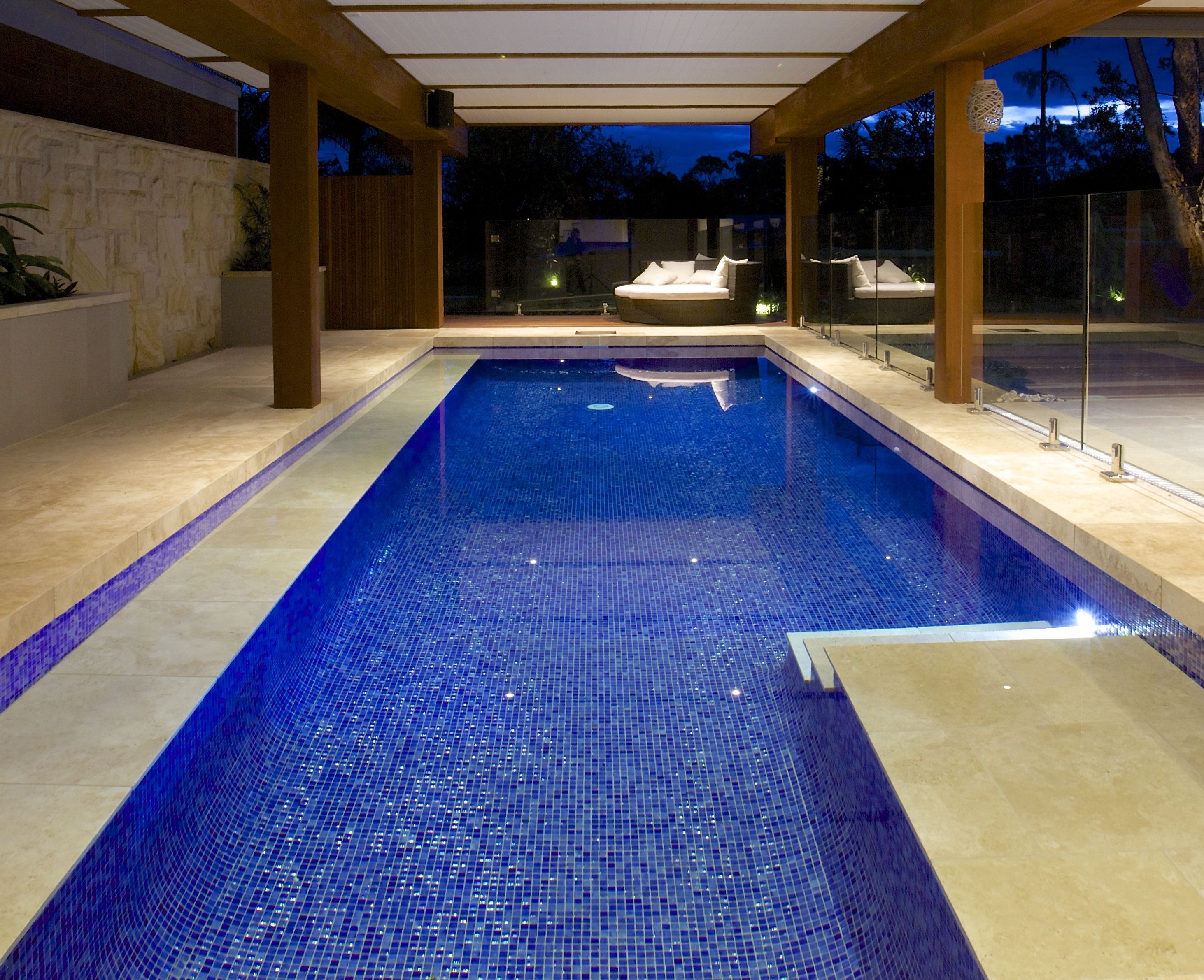 Image Result For Dark Blue Swimming Pools Reno Ideas
