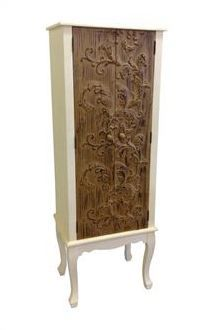 Tall French cabinet
