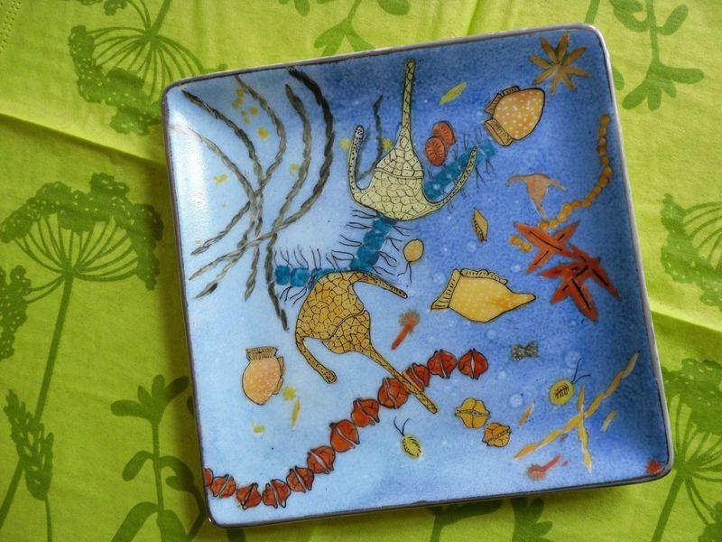Peinture sur porcelaine-La mer dans l'assiette - Album photos - Les dadas d'Elisa