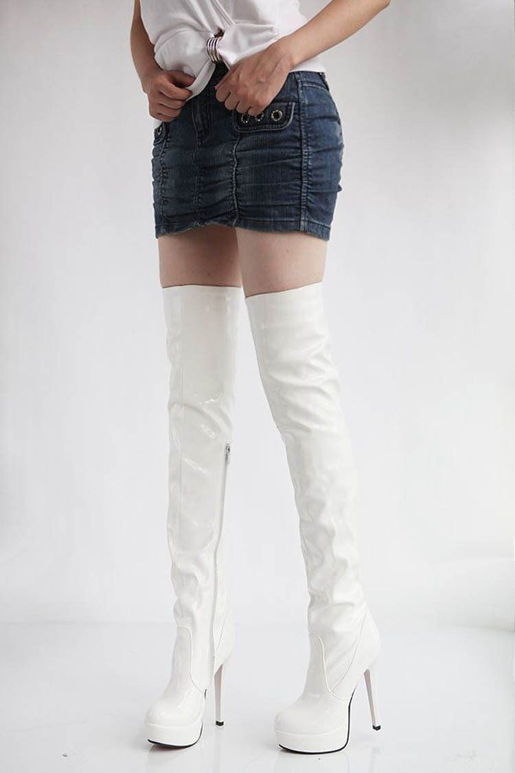 213124c180cf3 Women High Heels Tall Boots