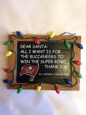 Tampa Bay Buccaneers Christmas Ornament