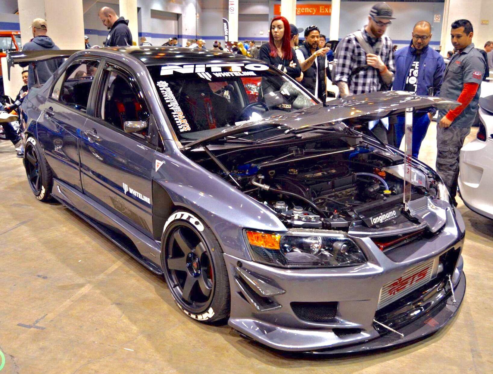 Mitsubishi Evolution Ix Evo Evo9 Mitsubishi Evolution Lancer