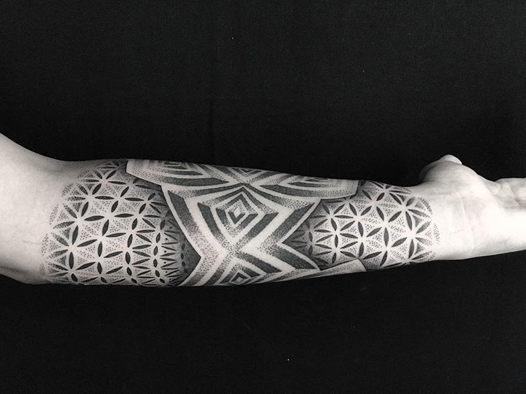 When Did Geometry Tattoos Start: Sacred Geometry Tattoo