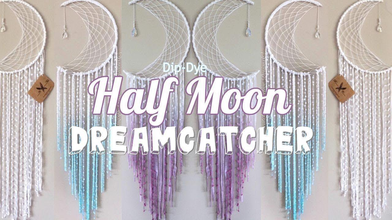 The Ocean Bohemian 9 Crescent Moon Dreamcatcher Crescent