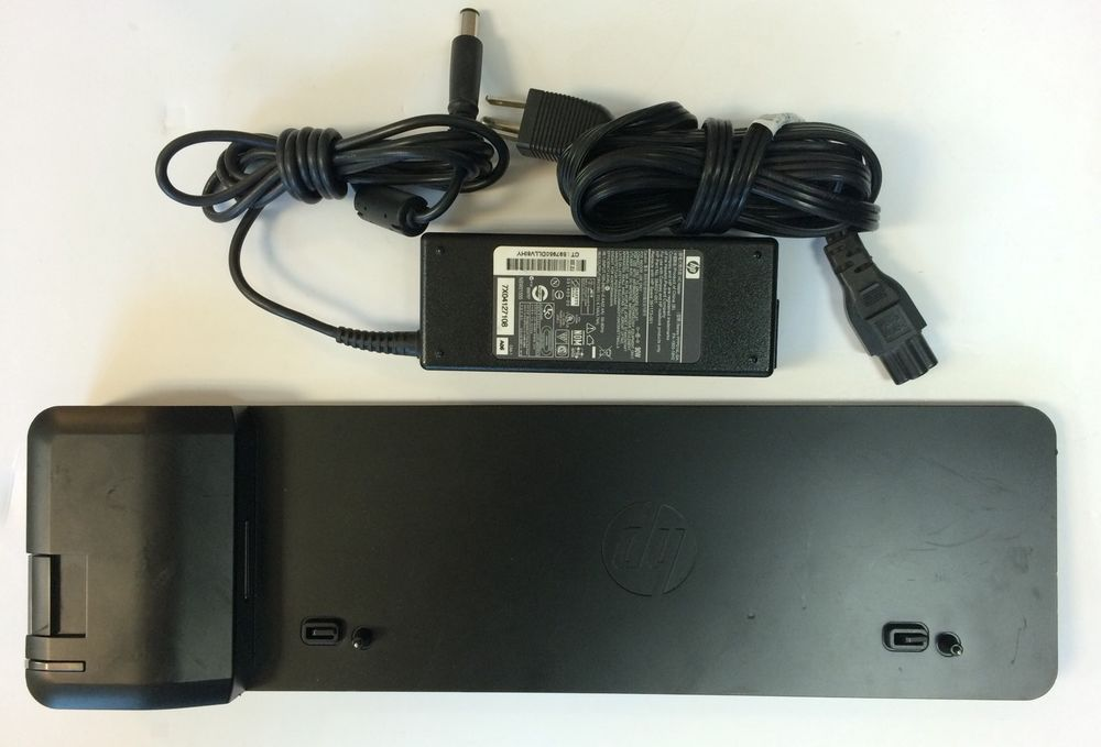 HP UltraSlim Docking Station 2013 D9Y32AA#ABA **No AC Adapter**
