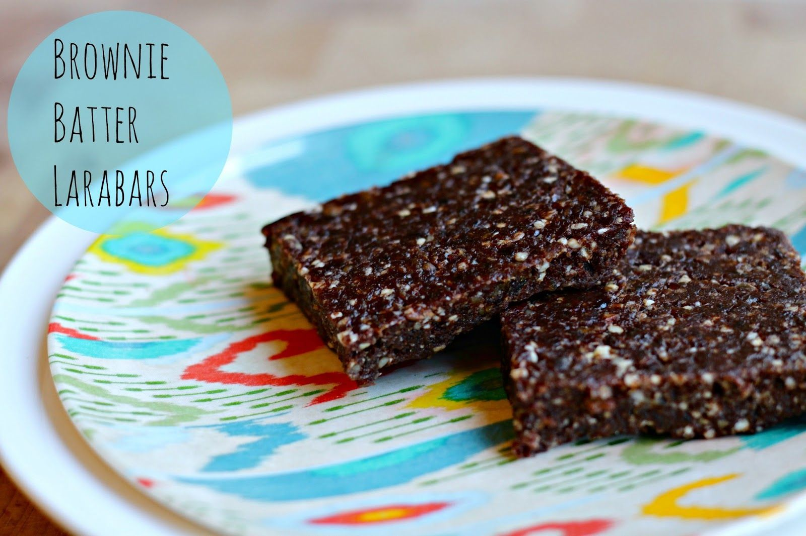 See Sarah Bake: Brownie Batter Larabars