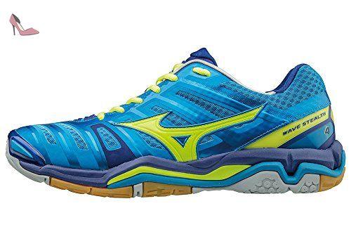Mizuno Wave Catalyst, Chaussures de Running Compétition Femme - Bleu - Blue (Atomic Blue/White/Diva Pink), 40.5 EU (7 UK)