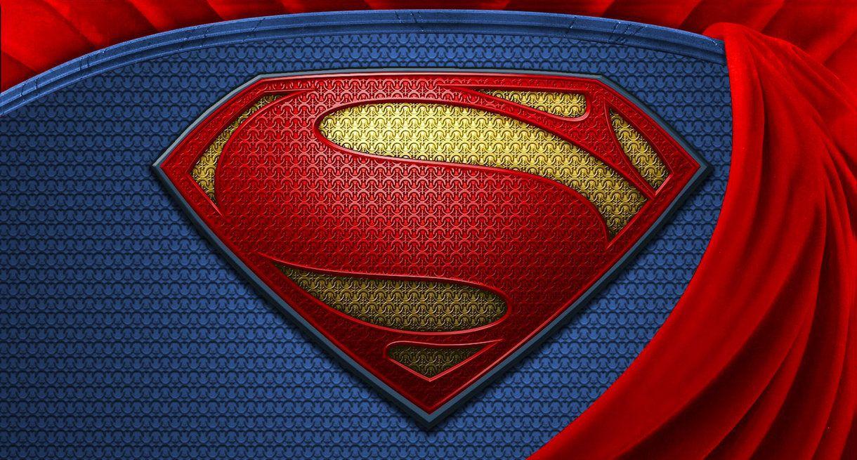 Superman Man Of Steel Wallpaper Logo Hd By Super Tybone82 On