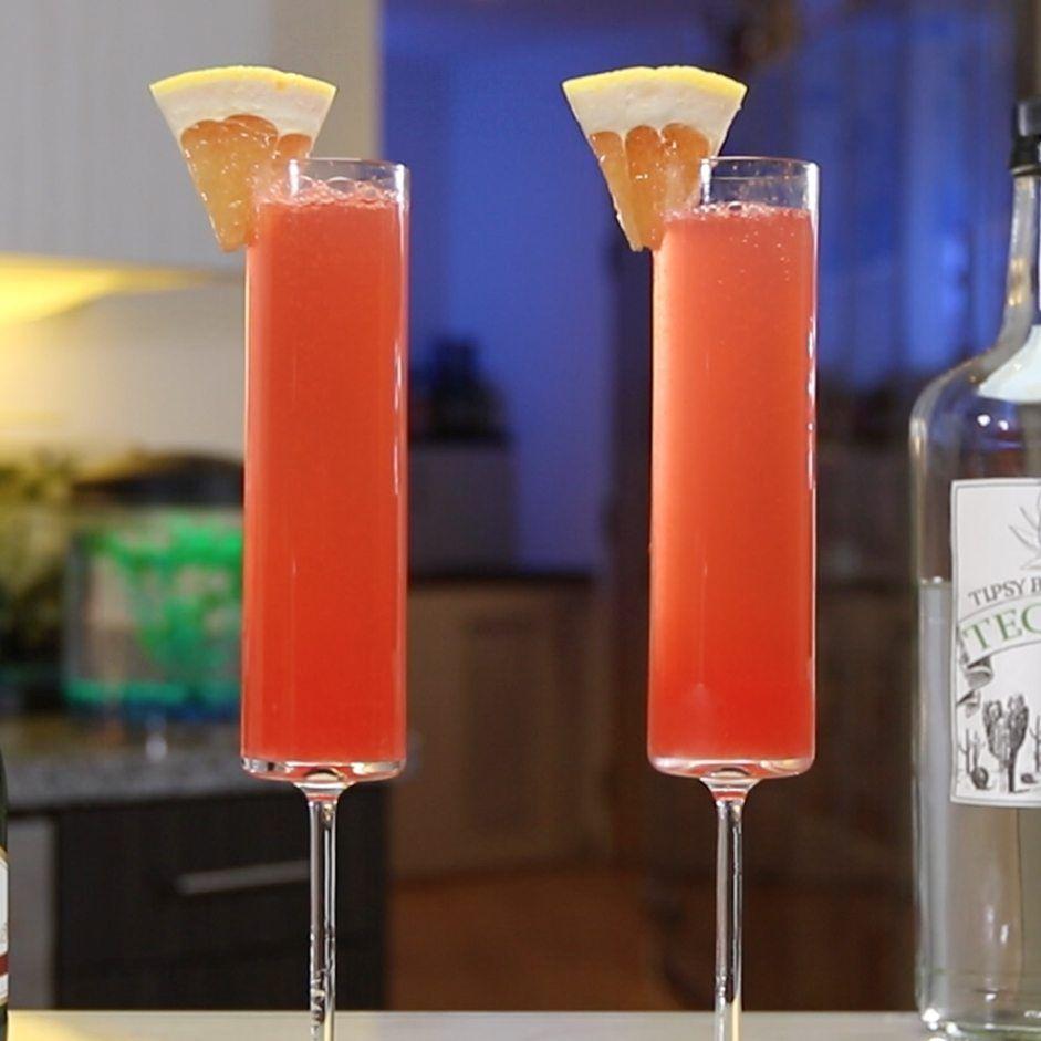 Paloma Mimosa Tipsy Bartender Recipe In 2020 Wedding Cocktails Recipes Champagne Recipes Cocktails Mimosa
