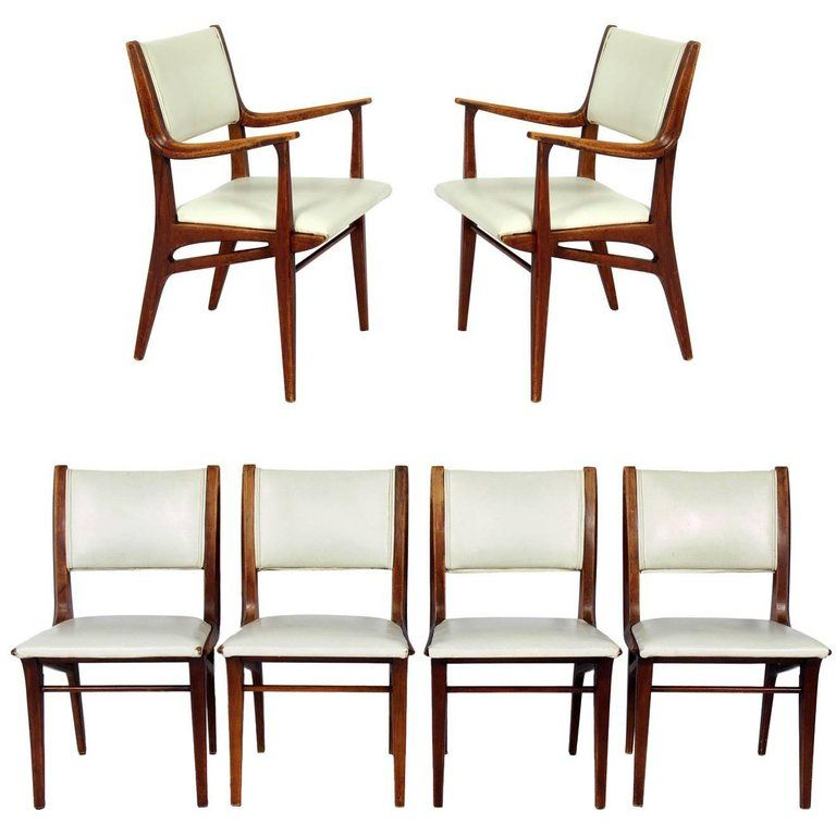 Incredible Curvaceous Mid Century Modern Dining Chairs By John Van Dailytribune Chair Design For Home Dailytribuneorg