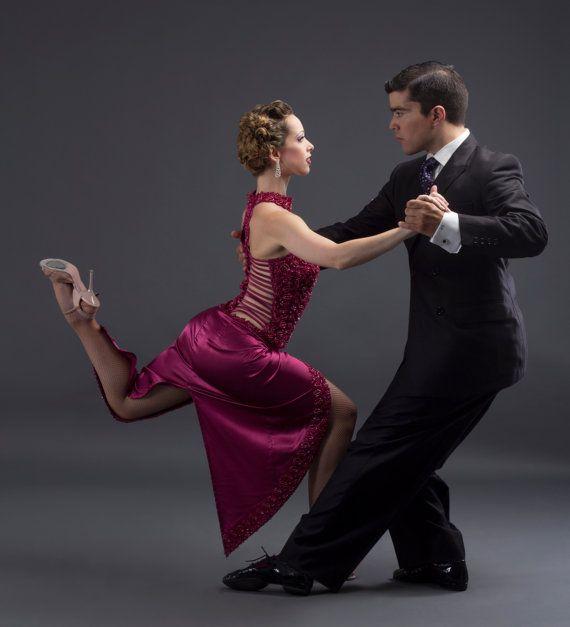 Argentine Tango Performance Dress Stage Tango Dress Etsy Tango Dress Salsa Dancing Ballroom Dance Dresses