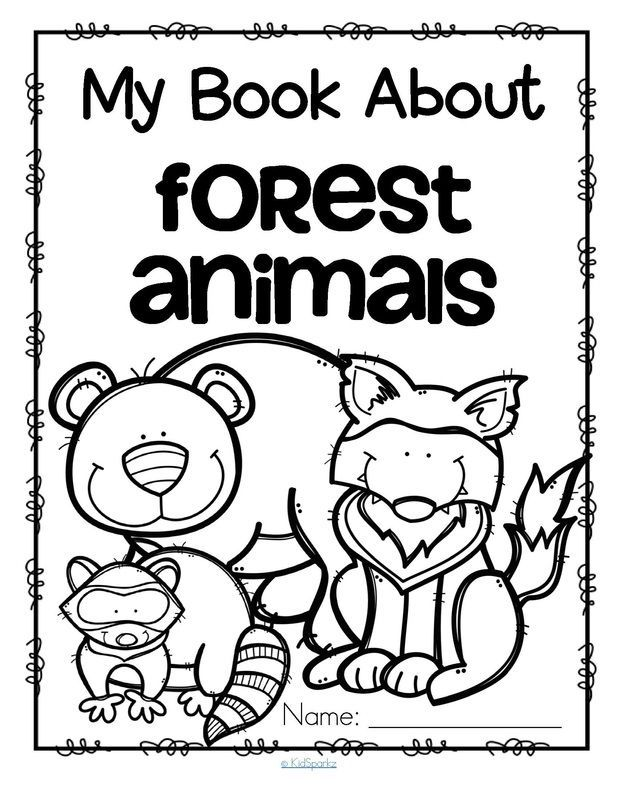 Forest Animals preschool activities