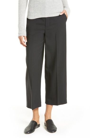 VINCE Stretch Wool Trousers. #vince #cloth #
