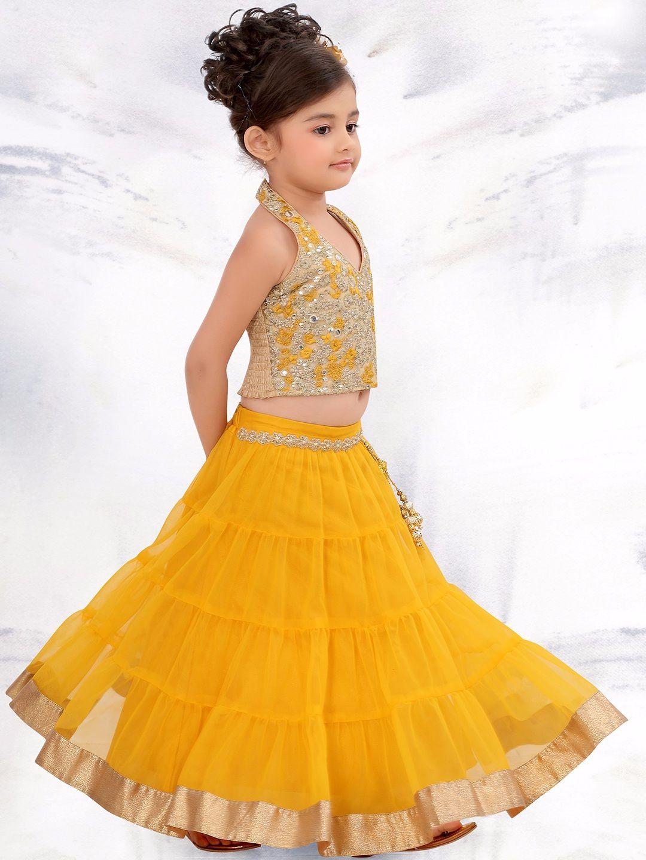 7a34ddee816 G3 Exclusive Yellow Wedding Wear Lehenga Choli