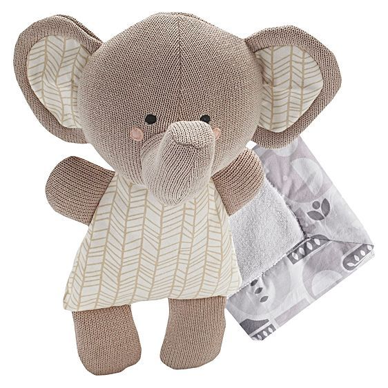Perfect for soothing and calming your little one, the Naturi Softie Toy from Living Textiles features cuddly fabrics and a comforting, elephant character.