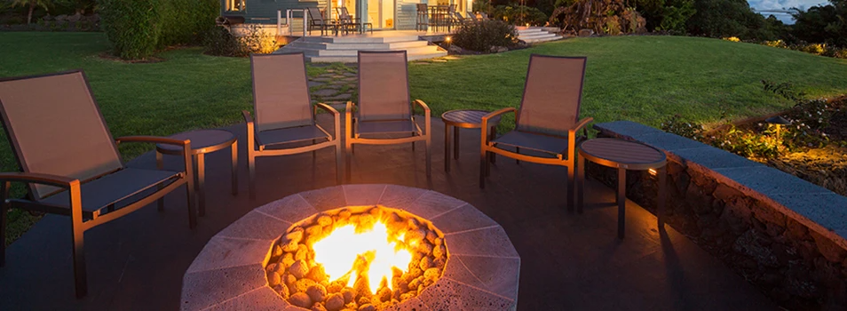 DIY Natural Gas Fire Pit in 2020 | Diy gas fire pit ...