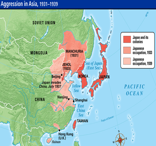 Image result for imperial japan map | History maps Pacific rim