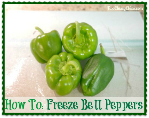 How To Blanch And Freeze Bell Peppers Stuffed Peppers Stuffed Bell Peppers Freezing Bell Peppers