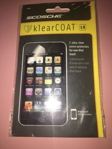 scosche klearcoat ipod 4th screen protector