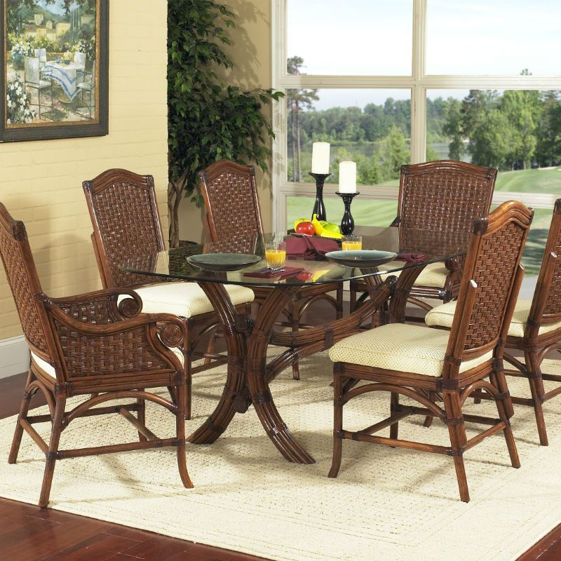 Riviera 7 Pc Dining Set With Side Chairs  Side Chair Pc And Products Endearing Side Chairs Dining Room Inspiration Design