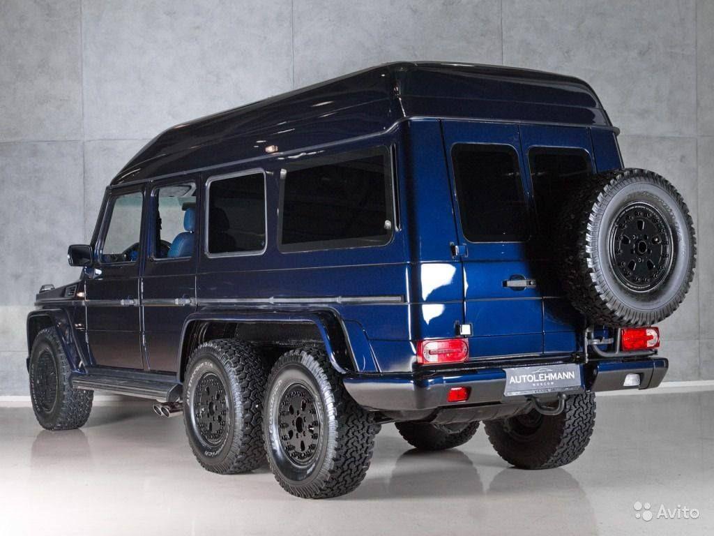 1994 mercedes-benz g500 6x6schulz tuning | mercedes