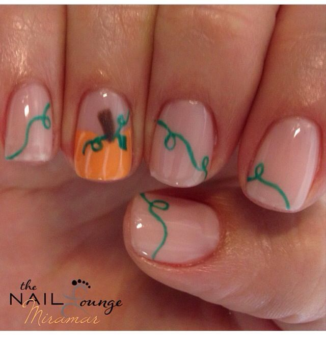 Thanksgiving Nails Nailshairmake Up Pinterest