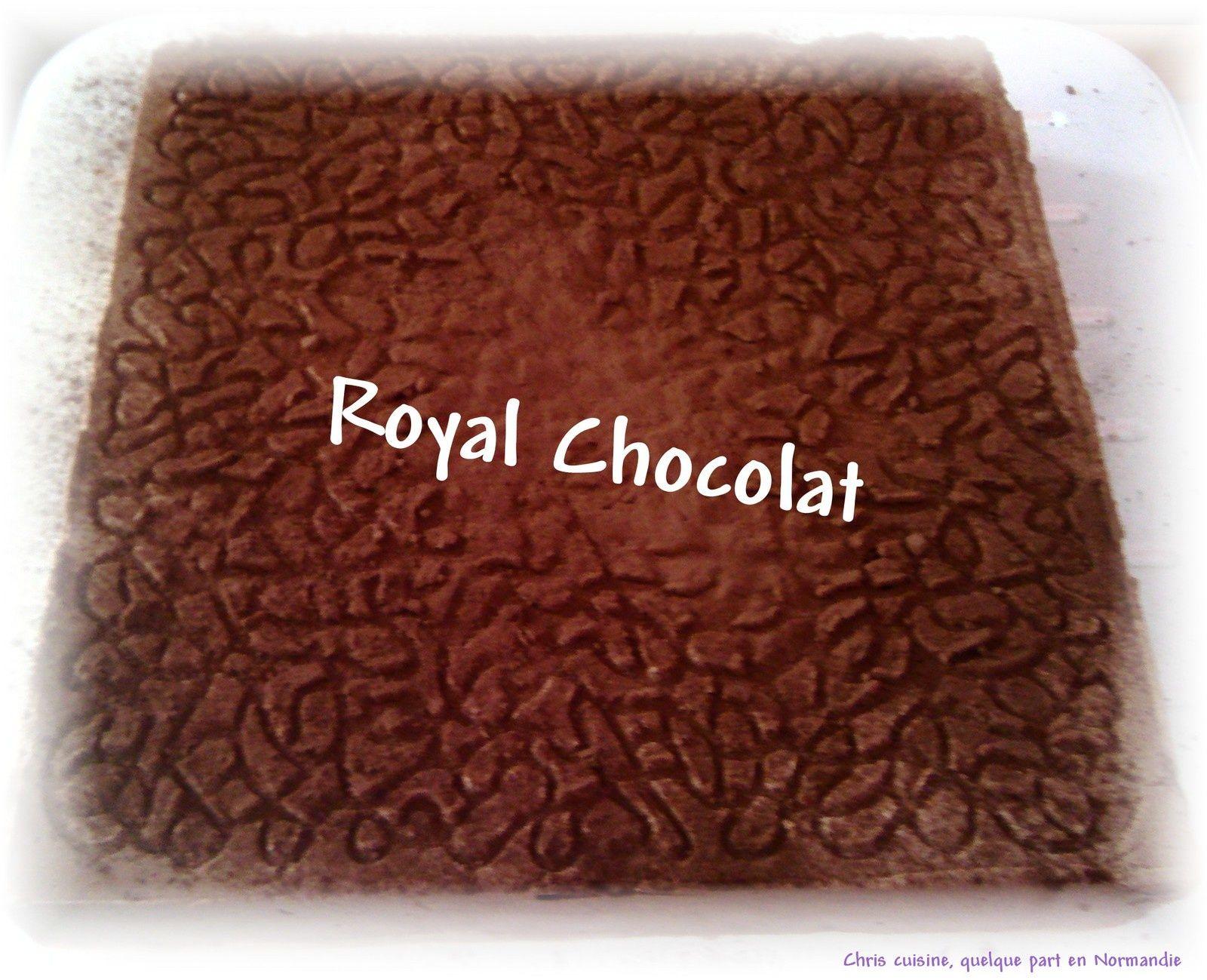 Royal chocolat comme chez le patissier