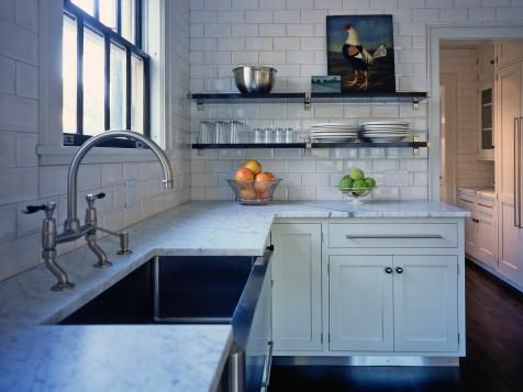 15 Design Ideas For Kitchens Without Upper Cabinets Kitchen