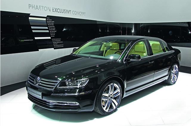 Volkswagen phaeton specs