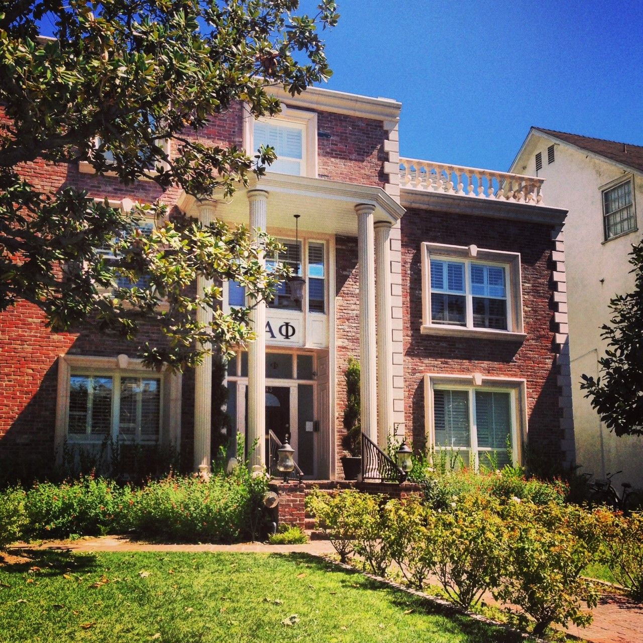 alpha phi chapter house: beta pi - usc | home sweet home: alpha