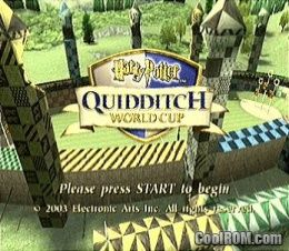 Harry Potter - Quidditch World Cup ROM (ISO) Download for Nintendo ...